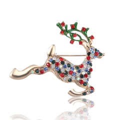 Cute Brooches Christmas Series Charms Santa Clause Fashion Men Women's Pins Brooches Jewelry For Cloth Decorations brooch4