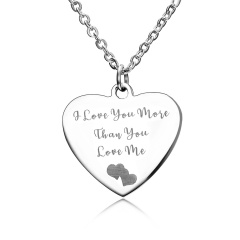 Stainless Steel Heart Pendant Jewelry Heart 5