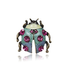 Summer Style Vintage Animal Brooches for Women Plant Insect Pearl Brooch Pin Fashion Dress Coat Jewelry animal2