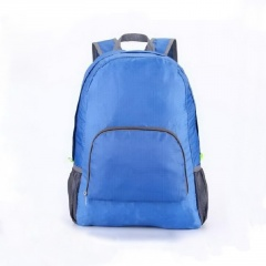 Outdoor sports backpack Blue