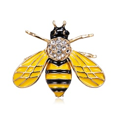 Animal Insects Brooches Enamel Bee Grasshopper Caterpillar Brooch Pins Women Kids Coat Suit Clothes Accessories Insect 2