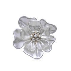 Rinhoo Camellia Flower Brooch pins plant Brooches For women Dressing Decoration Fashion Beautiful Jewelry Modern Girl Gift Flower1