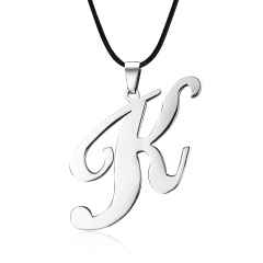 Fashion Stainless Steel Silver Spider Pendant Necklace Charm