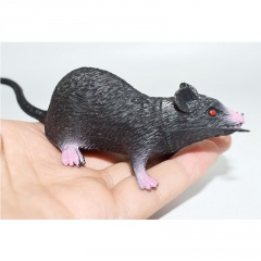 PVC Simulation Mouse Halloween Toy GRAY