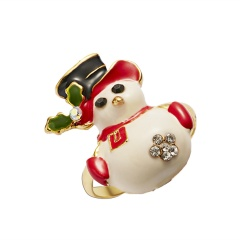 Christmas Style Cute Rings Alloy Adjustable Rings Wholesale Snowman