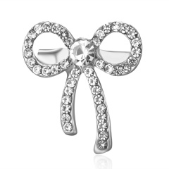 2019 Hot Fashion Rhinestone Flower Guitar Bowknot Brooches Pins Antique CZ Romantic Brooch Women Wedding Party Jewelry Wholesale #3