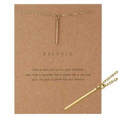 Simple Sun Leaf Wing Charms Pendant Chain Necklace Womens Fashion Jewellery Hot Balance