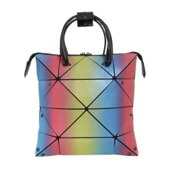 Geometric Rhombus Can Fold A One-shoulder Handbag Color