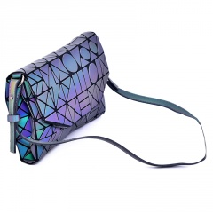 Geometric Crossbody Bag Glow-light Women's Bag Folding Women's Bag 26*17 The geometric model