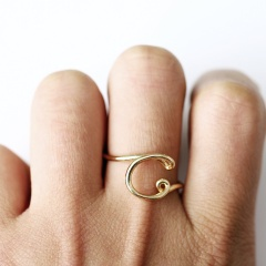 Letters ring C