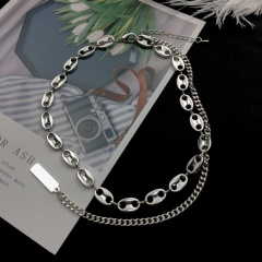 Pig nose chain clavicle chain necklace Pig nose