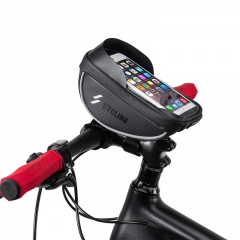 Bicycle Touch Screen Waterproof Handlebars Car Beams Mobile Phone Bags Riding Equipment Accessories Black
