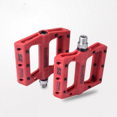 Mountain Bike Pedal Bearings Cycling Equipment Accessories Red