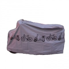 Bicycle Dust Cover Electric Car Motorcycle Rain Cover Gray