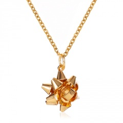 Wholesale Christmas Necklace Sweater Jewelry Gold Chain 52CM 7