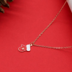 Wholesale Christmas Necklace Fashion Jewelry Gold Chain 45+5 CM 12