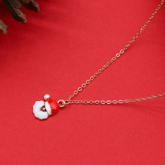 Wholesale Christmas Necklace Fashion Jewelry Gold Chain 45+5 CM 1