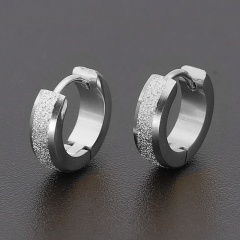 Stainless Steel Hoop Earring Jewelry silver