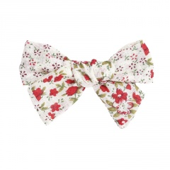 Simple floral bow hairpin wholesale #2